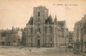 AK / Ansichtskarte Angers Eglise Notre Dame Kat. Angers