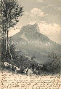 AK / Ansichtskarte Chartreuse La Grande Massif Dent de Crolles