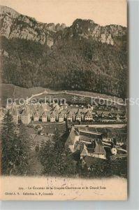 AK / Ansichtskarte Grande Chartreuse le Grand Som et le Couvent Kat. Saint Pierre de Chartreuse