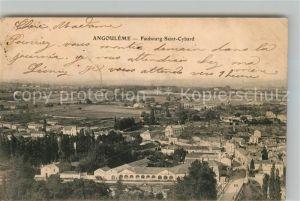 AK / Ansichtskarte Angouleme Faubourg Saint Cybard Kat. Angouleme