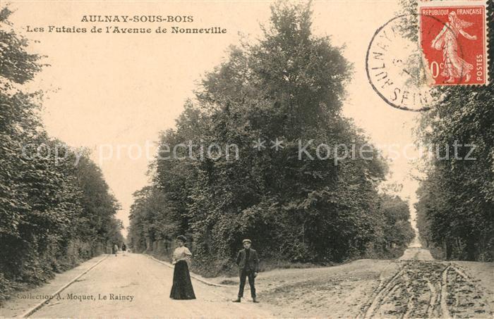 AK / Ansichtskarte Aulnay sous Bois Les Futaies de l Avenue de Nonneville Kat. Aulnay sous Bois