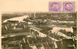 AK / Ansichtskarte Montereau Fault Yonne Vue generale prise de Surville Kat. Montereau Fault Yonne