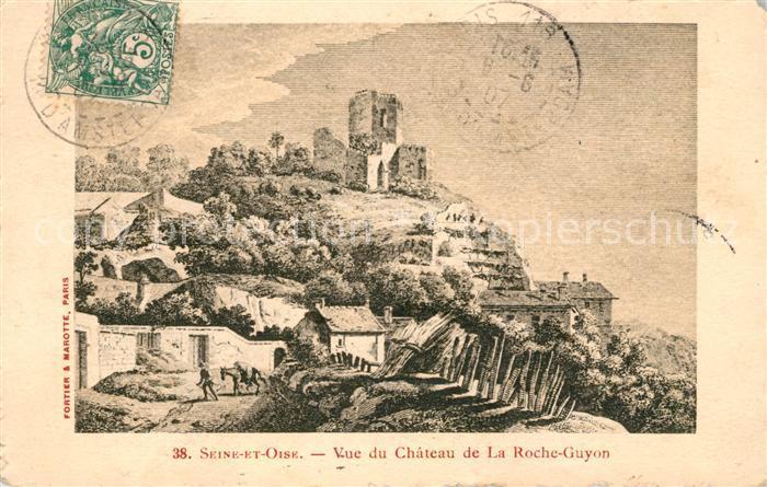 AK / Ansichtskarte La Roche Guyon Chateau Kat. La Roche Guyon