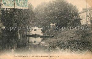 AK / Ansichtskarte Saint Maur des Fosses Petit Bras de la Marne et Lavoir Kat. Saint Maur des Fosses