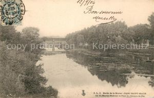 AK / Ansichtskarte Saint Maur des Fosses Parc Bords de la Marne Kat. Saint Maur des Fosses