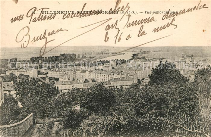 AK / Ansichtskarte Villeneuve Saint Georges Vue panoramique Kat. Villeneuve Saint Georges