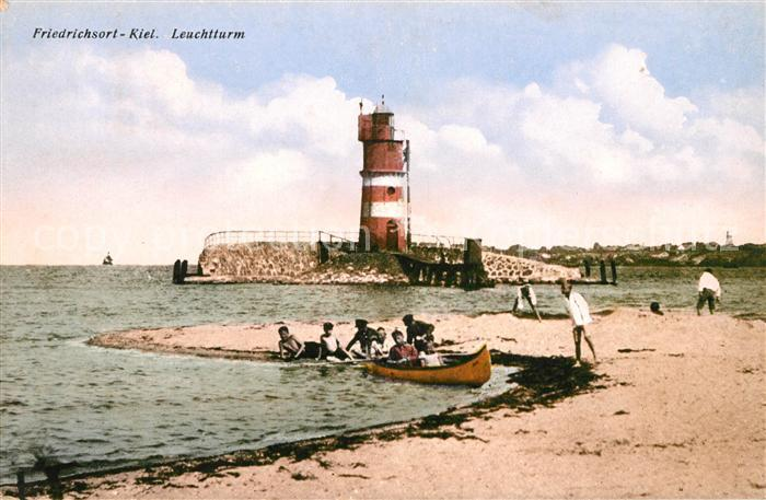 AK / Ansichtskarte Friedrichsort Leuchtturm Kat. Kiel