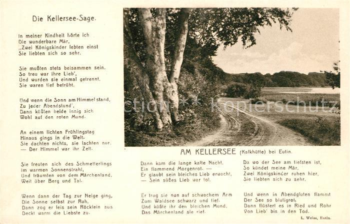AK / Ansichtskarte Eutin Am Kellersee Die Kellersee Sage Kat. Eutin