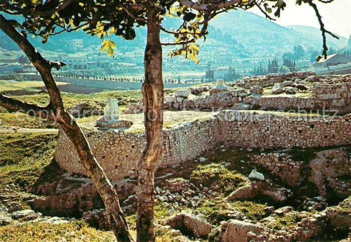 AK / Ansichtskarte Nablus Ausgrabungen Kat. Nablus