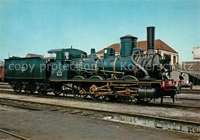 AK / Ansichtskarte Lokomotive Locomotive 030 C 815 Mulhouse  Kat. Eisenbahn