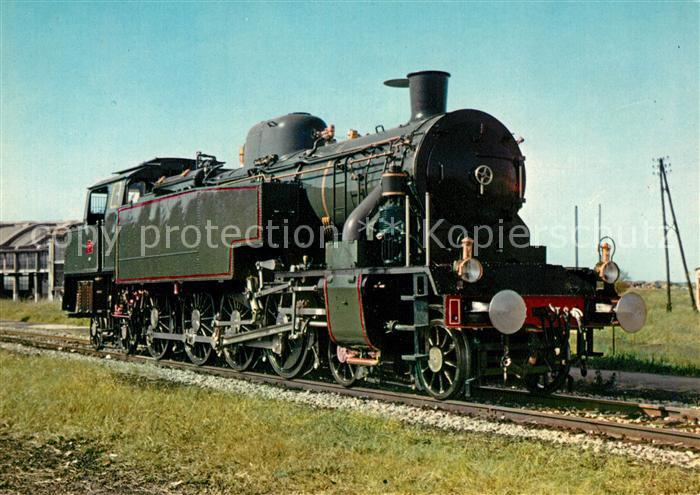 AK / Ansichtskarte Lokomotive Locomotive 242 AT 6 P.L.M. Mulhouse  Kat. Eisenbahn