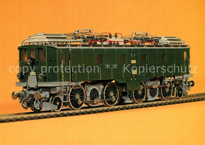 AK / Ansichtskarte Eisenbahn Fulgurex Spur H0 Nr. 2007 SBB E Lok Be 4 6  Kat. Eisenbahn