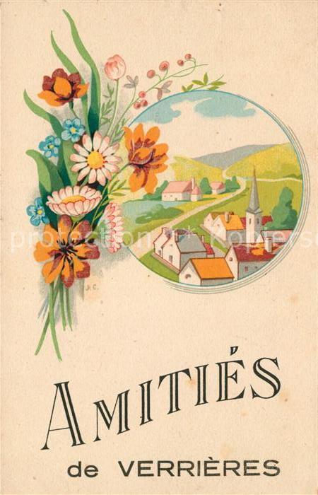 AK / Ansichtskarte Verrieres Ardennes Illustration Kat. Verrieres