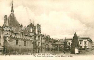 Saumur Hotel de Ville et le Theatre Kat. Saumur