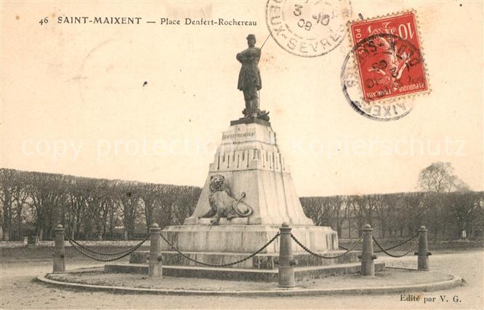 Saint Maixent l Ecole Place Denfert Rochereau Kat. Saint Maixent l Ecole