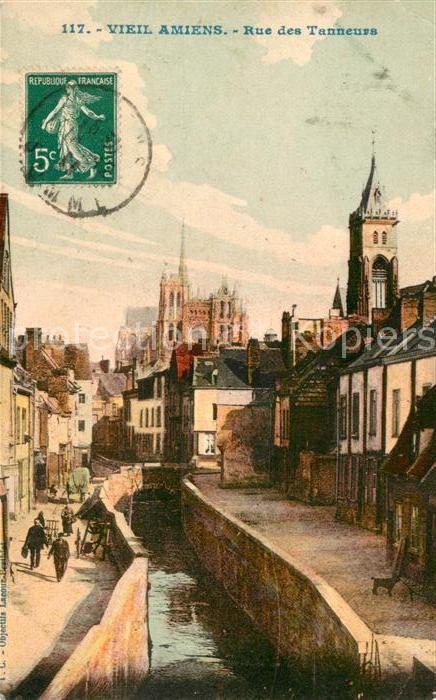 Amiens Rue des Tanneurs Kat. Amiens