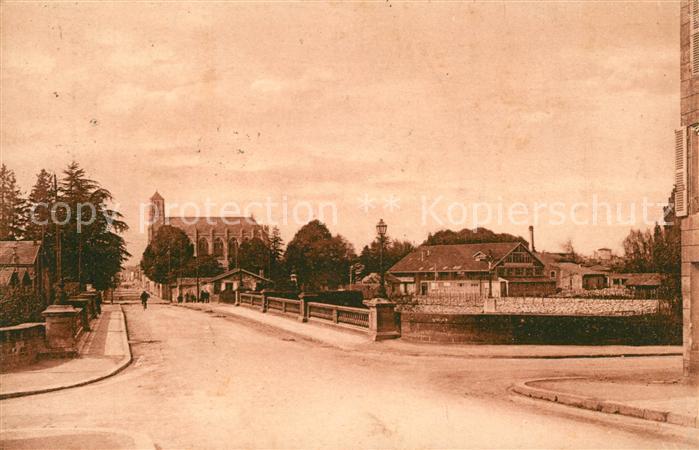 Niort Rue Gambetta et Eglise St Etienne Kat. Niort