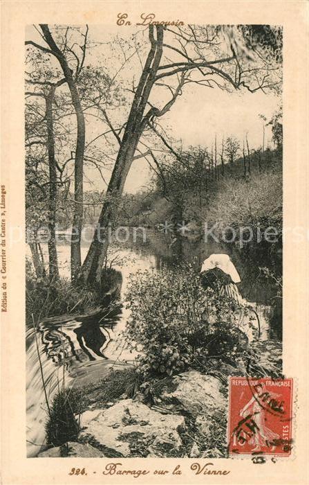 AK / Ansichtskarte Vienne Isere Barrage sur la Vienne Kat. Vienne