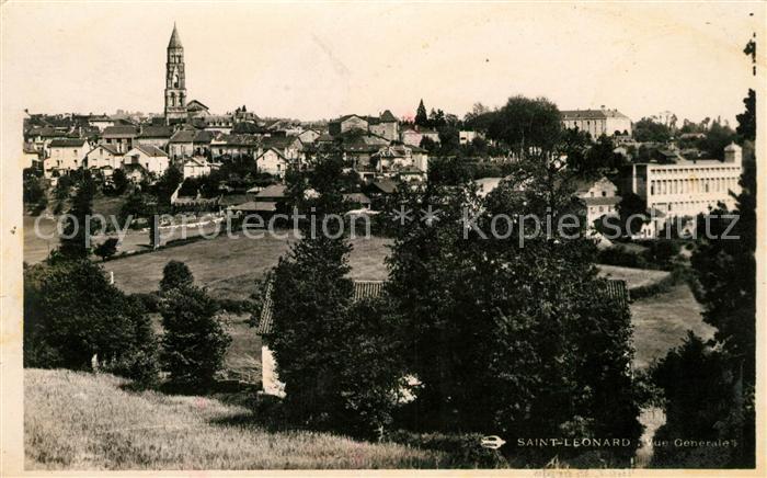 AK / Ansichtskarte Saint Leonard de Noblat Panorama Kat. Saint Leonard de Noblat