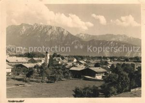 AK / Ansichtskarte Niederaudorf Panorama Kat. Oberaudorf