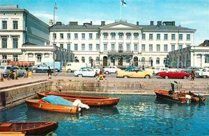 AK / Ansichtskarte Helsinki Praesidentenpalast Kat. Helsinki