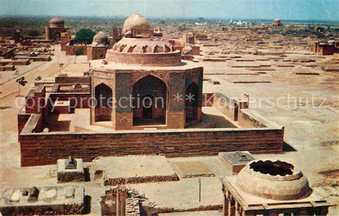 AK / Ansichtskarte Karachi Makli Monuments Thatta Kat. Karachi