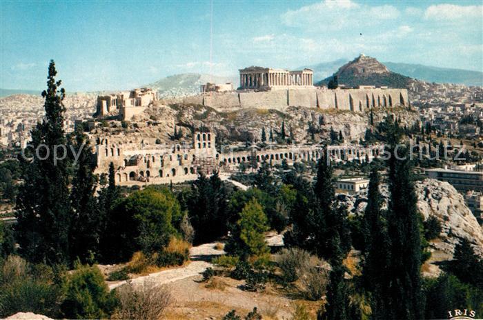 AK / Ansichtskarte Athenes Athen Acropolis Kat. Griechenland