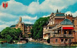 AK / Ansichtskarte Amsterdam Niederlande American Hotel en Lido Kanal Kat. Amsterdam
