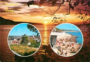 AK / Ansichtskarte Pula Strand Panorama Sonnenuntergang Kat. Pula