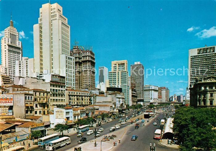 AK / Ansichtskarte Sao Paulo Panorama Kat. Sao Paulo