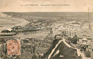 AK / Ansichtskarte Le Treport Panorama pris du Calvaire Kat. Le Treport