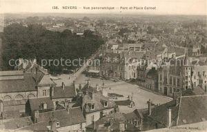 AK / Ansichtskarte Nevers Nievre Parc et Place Carnot Kat. Nevers