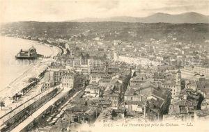 AK / Ansichtskarte Nice Alpes Maritimes Vue panoramique prise du Chateau Kat. Nice