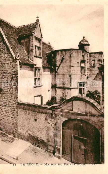 AK / Ansichtskarte La Reole Maison du Prince Noir Kat. La Reole