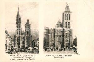 AK / Ansichtskarte Saint Denis Aude Abbaye de Saint Denis Etat actuel Kat. Saint Denis
