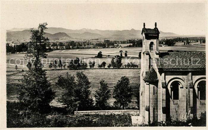 AK / Ansichtskarte Saint Gaudens Vue vers les Hautes Pyrenees et la plaine de riviere Kat. Saint Gaudens