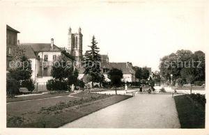 AK / Ansichtskarte Troyes Aube Le Jardin de la Prefecture Kat. Troyes