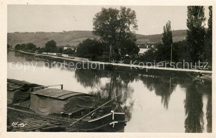 AK / Ansichtskarte Saint Julien du Sault Le Port Les bords de l Yonne Kat. Saint Julien du Sault