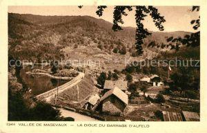 AK / Ansichtskarte Alfeld la Ville Vallee de Masevaux La Digue du Barrage d Alfeld Kat. Sewen