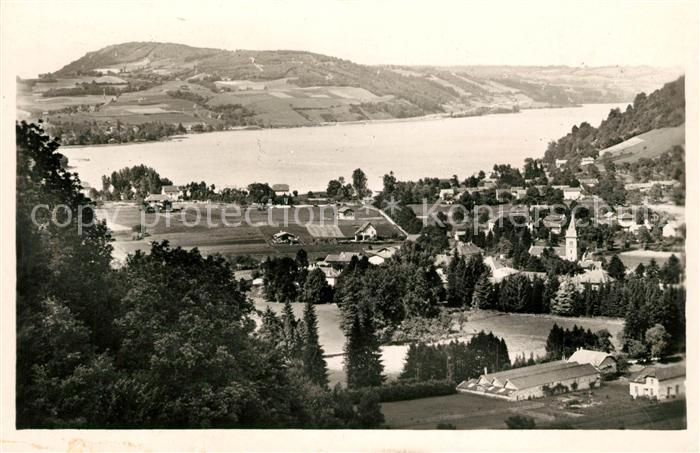 AK / Ansichtskarte Charavines les Bains et son Lac
