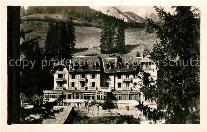 AK / Ansichtskarte Saint Pierre de Chartreuse Hotel du Grand Som
