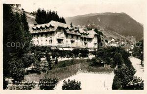 AK / Ansichtskarte Saint Pierre de Chartreuse Hotel du Grand Som et le Tennis
