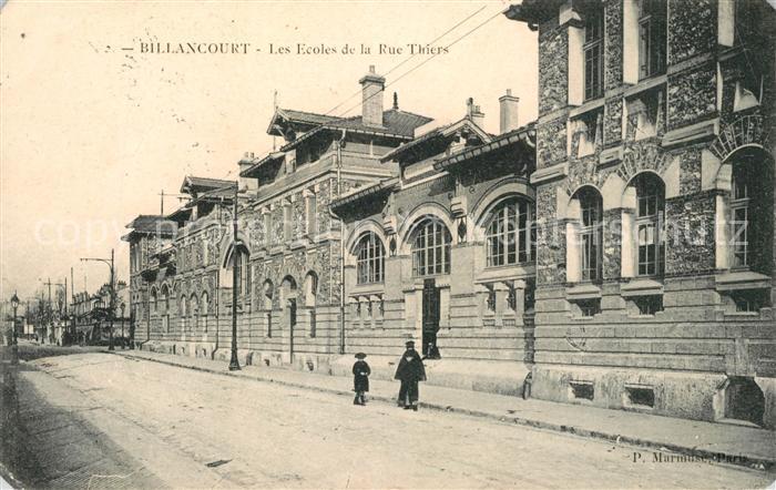 AK / Ansichtskarte Billancourt Boulogne Les Ecoles de la Rue Thiers Kat. Boulogne Billancourt