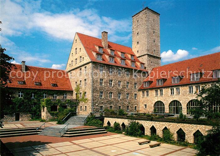 AK / Ansichtskarte Ebermannstadt Jugendhaus Burg Feuerstein Kat. Ebermannstadt