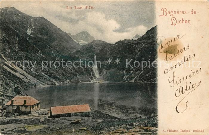 AK / Ansichtskarte Bagneres de Luchon Le Lac d Oo Kat. Bagneres de Luchon