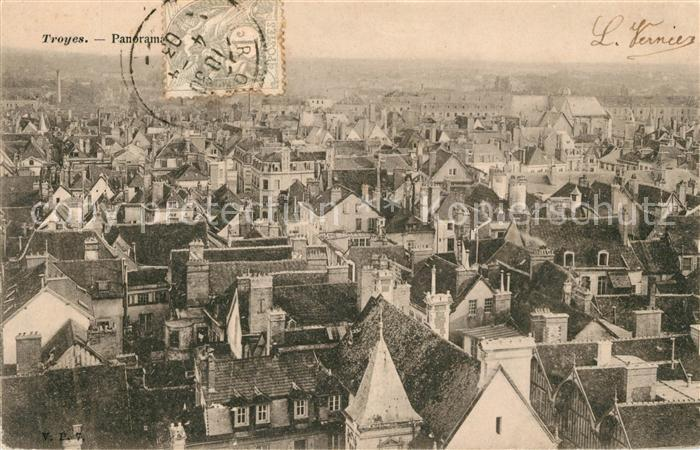 AK / Ansichtskarte Troyes Aube Panorama Kat. Troyes