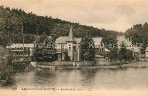 AK / Ansichtskarte Bagnoles de l Orne Les Bords du Lac Kat. Bagnoles de l Orne