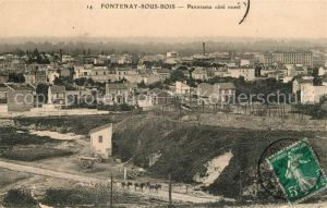 AK / Ansichtskarte Fontenay sous Bois Panorama cote ouest Kat. Fontenay sous Bois