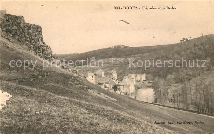 AK / Ansichtskarte Rodez Tripadou sous Rodez Kat. Rodez