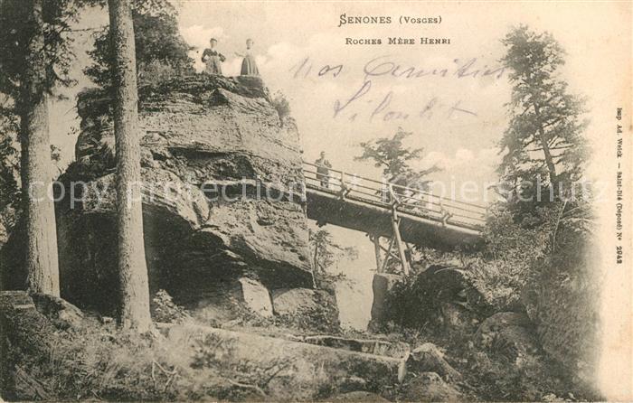 AK / Ansichtskarte Senones Vosges Roches Mere Henri Kat. Senones